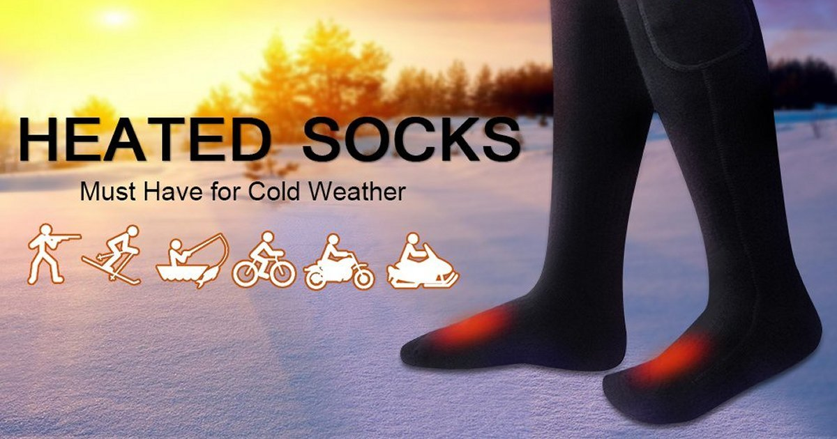 5 Best Heated Socks Reviews – Must have for Cold Weather (Updated Oct 2019)