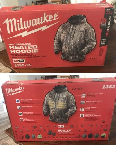 box - Milwaukee Heated Hoodie Review
