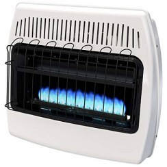 dyna glo flames 1 - Dyna Glo 30000 BTU Wall Heater Reviews and Comparisons